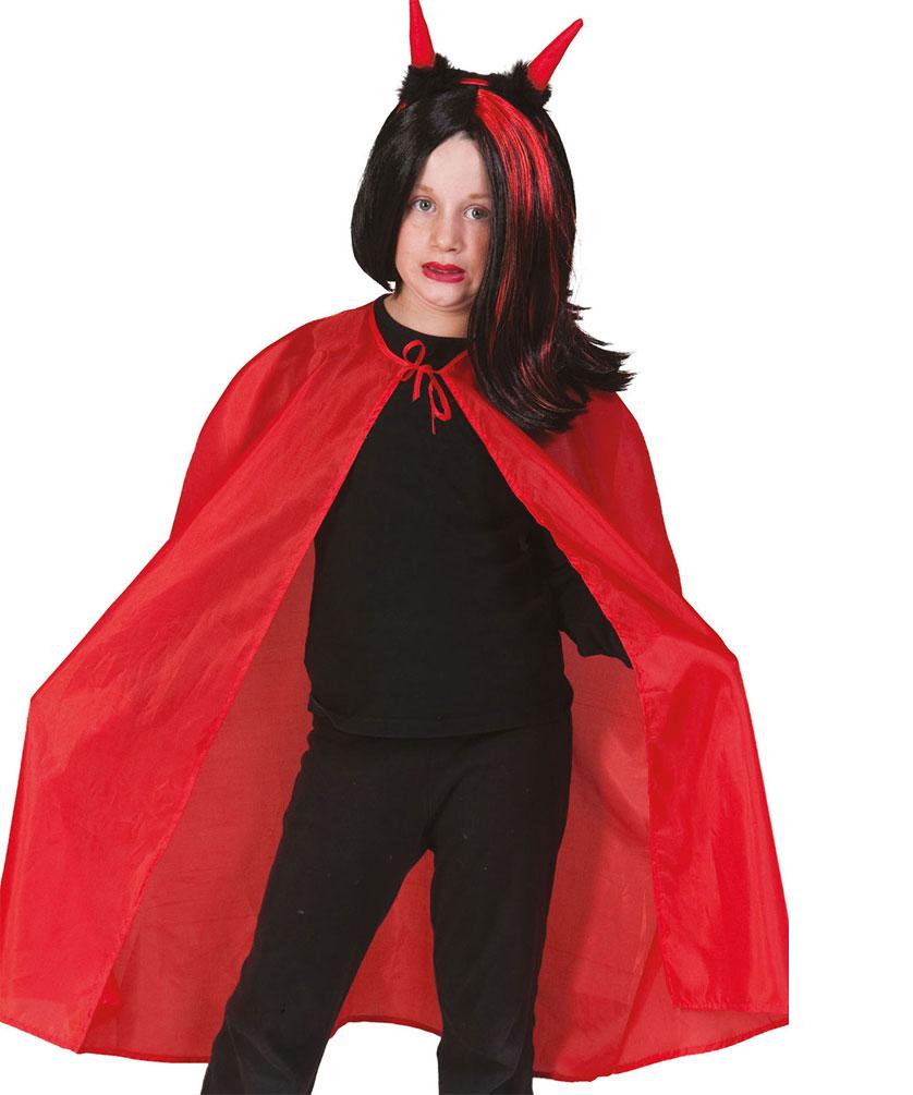 Vampir Umhang Kinder Rot Kostume