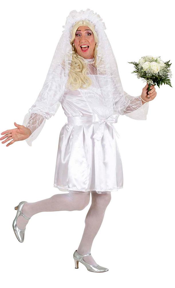Braut Kostüm Herren Junggesellenabschied Herrenkostüm Kleid Schleier ...