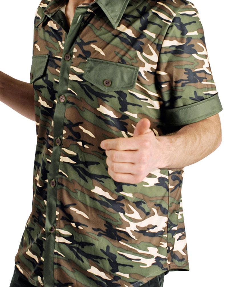 soldat kost m hemd soldat milit r camouflage uniform. Black Bedroom Furniture Sets. Home Design Ideas