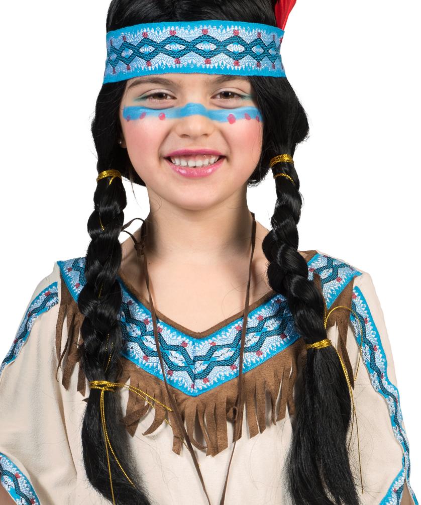 schminken indianer