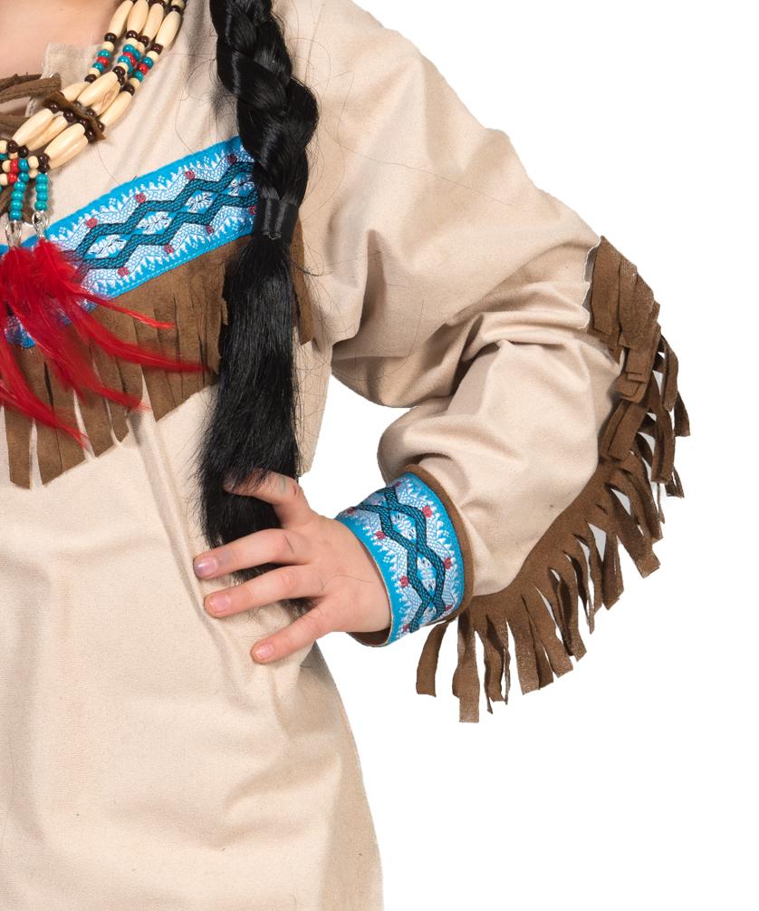 e60e8d6ca5d95 Indianer Kostüm Kinder Junge Kostüm Jungen-kostüm Indianer beige blau