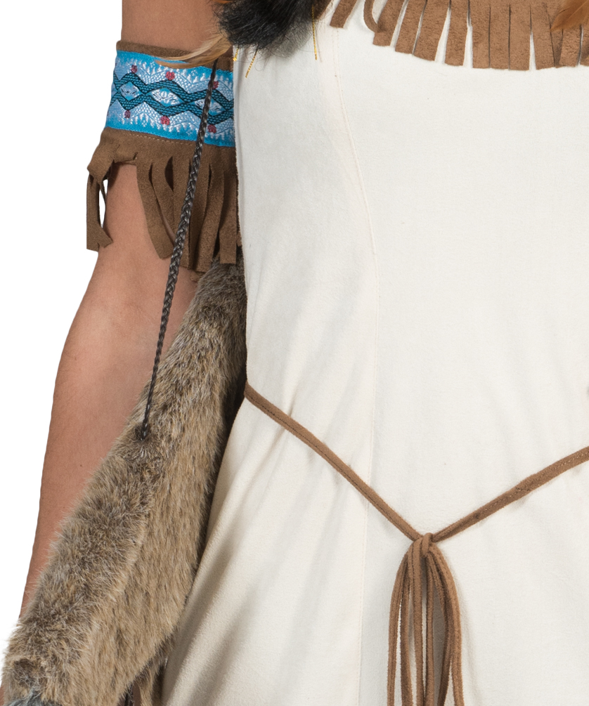 indianer squaw damen kost m indianerin kost m pocahontas. Black Bedroom Furniture Sets. Home Design Ideas