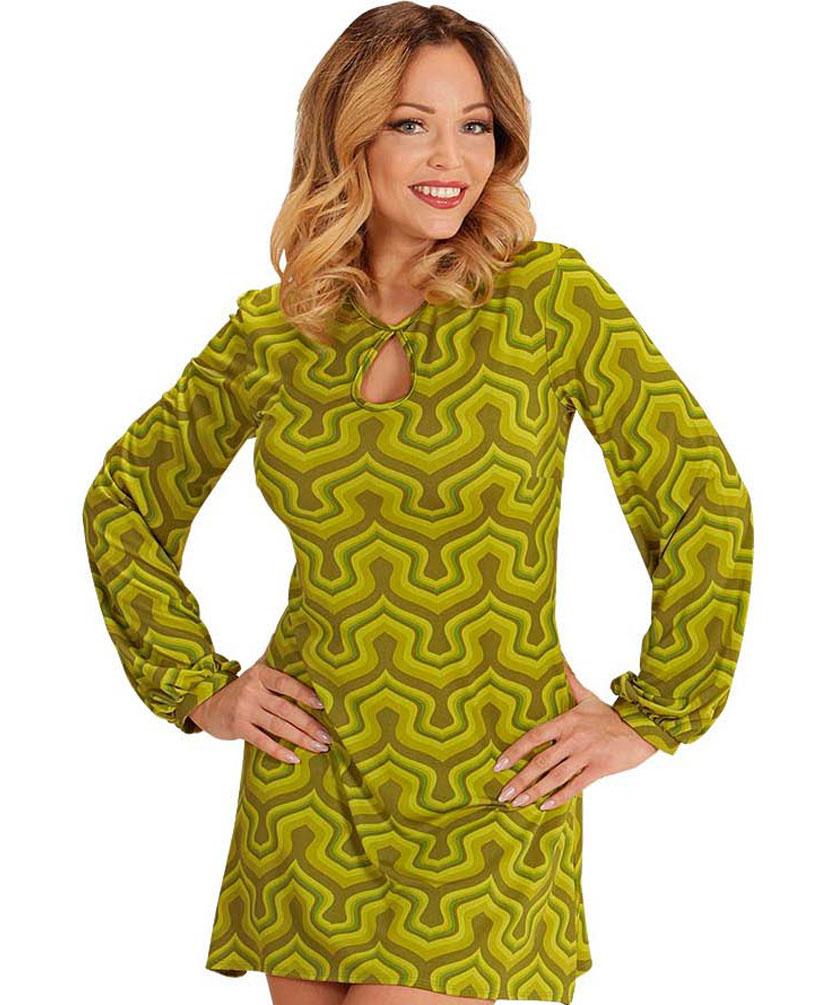 hippie kostum damen 70er jahre damen kost m retro kost m. Black Bedroom Furniture Sets. Home Design Ideas