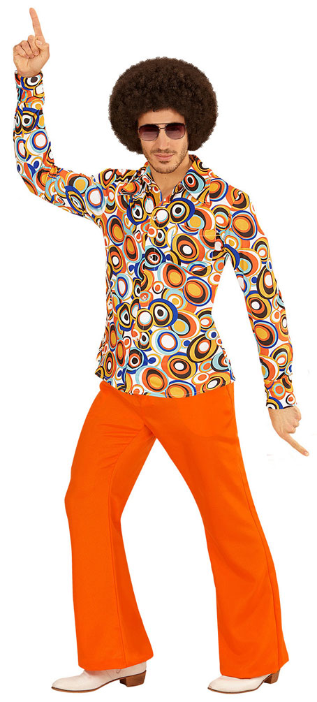 70er jahre hemd hippie kostum herren hippie hemd retro hemd bunt kost me. Black Bedroom Furniture Sets. Home Design Ideas