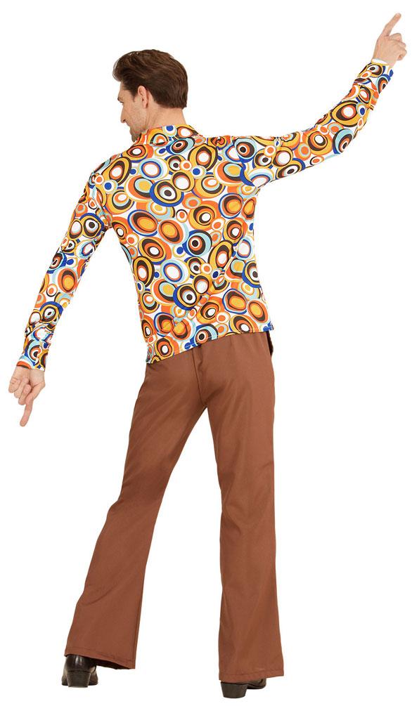 70er jahre hemd hippie kostum herren hippie hemd retro. Black Bedroom Furniture Sets. Home Design Ideas
