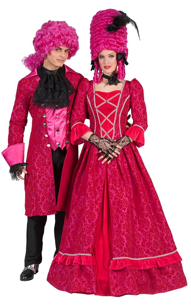 barock kost m damen renaissance damen kost m pink lang. Black Bedroom Furniture Sets. Home Design Ideas