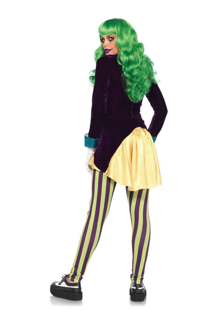 Kostum Kartenspielerin Joker Dame Luxus Kostume