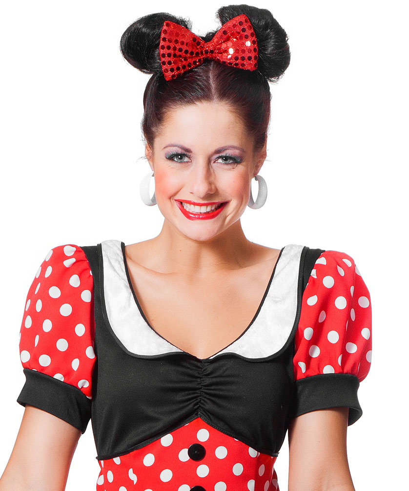 minnie mouse kost m damen minnie maus kost m damen kost m. Black Bedroom Furniture Sets. Home Design Ideas