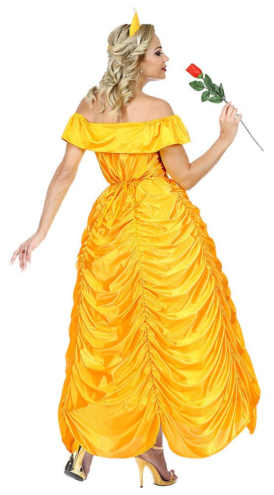 Belle Kostum Madchen Marchen Prinzessin Damen Kostum Kostume