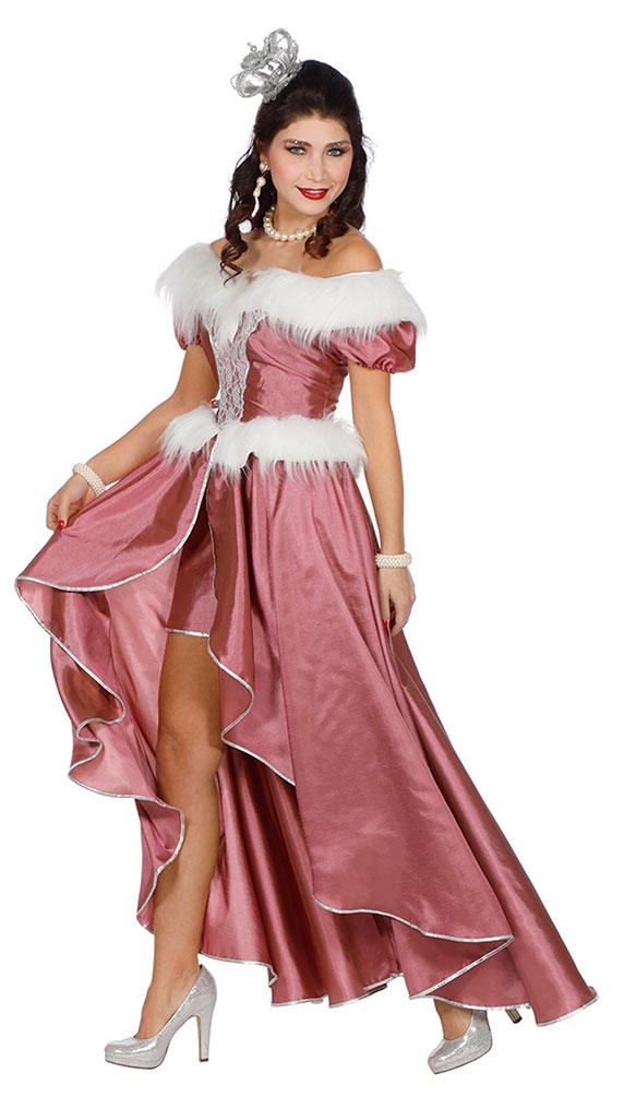 Prinzessin Kostüm Damen rosa große größen