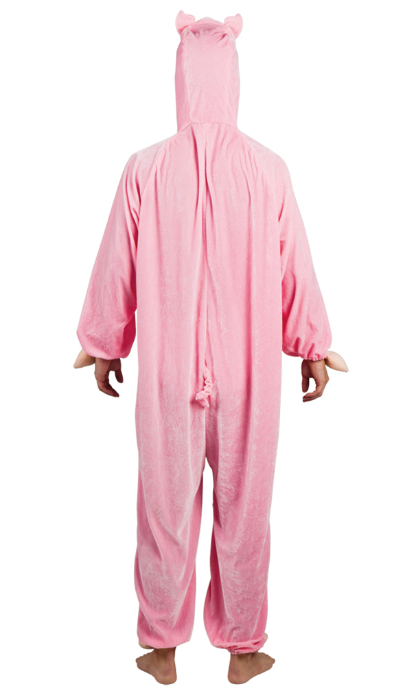 Plüsch Kostüm Schwein Karneval Fasching Tier