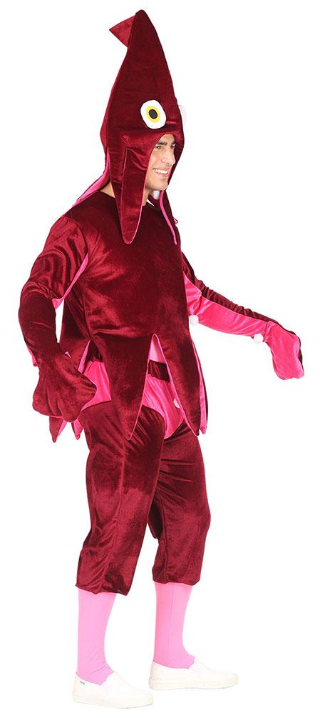 e38141997c Oktopus Kostüm Erwachsene Tintenfisch Damen-Kostüm Herren-Kostüm ...