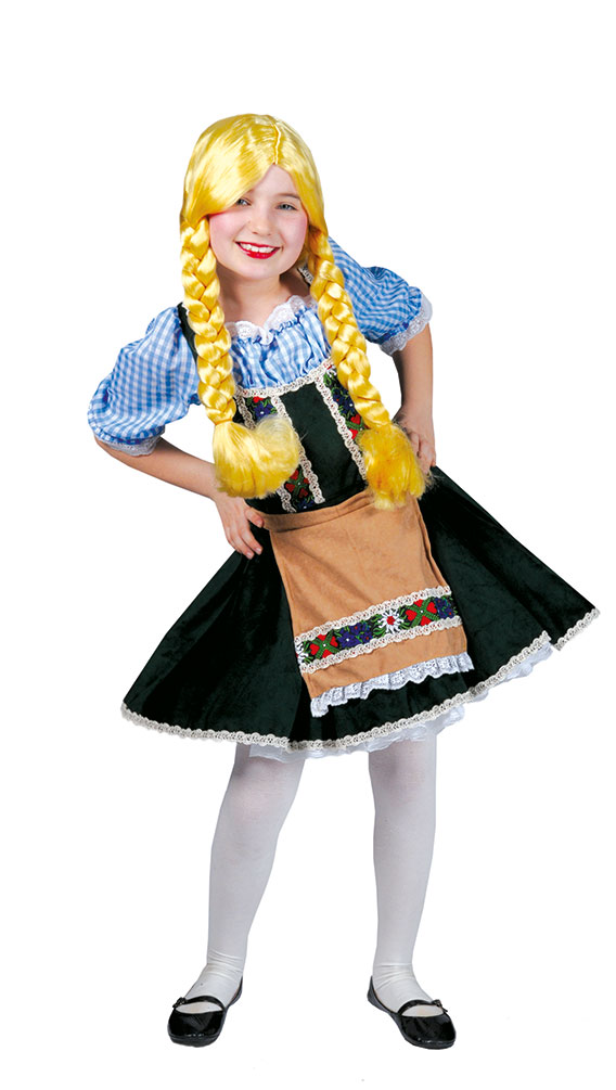 dirndl kost m kinder kleid heidi oktoberfest trachten. Black Bedroom Furniture Sets. Home Design Ideas