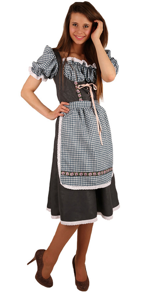 kost m dirndl damen oktoberfest trachten kleid bayern kleid tirolerin kost me g nstige. Black Bedroom Furniture Sets. Home Design Ideas
