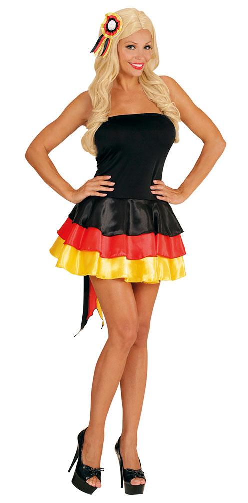 Wm Kleid Deutschland 2018 Damen Kostum Fanartikel