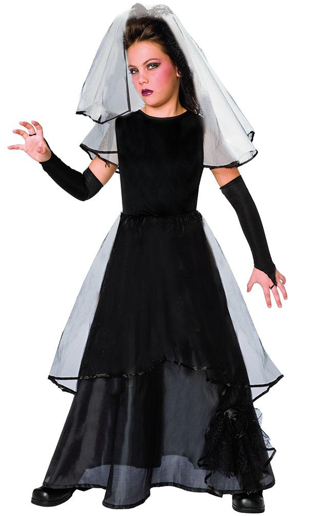 karneval klamotten kost m gothic braut m dchen halloween m dchenkost m ebay. Black Bedroom Furniture Sets. Home Design Ideas