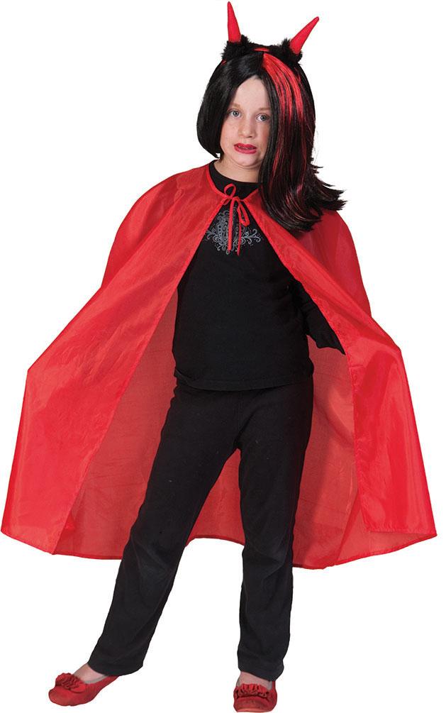 Vampir Umhang Kinder Rot