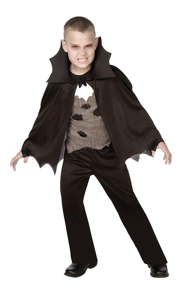 Vampir Umhang Kinder Mit Oberteil Und Hose Kostume