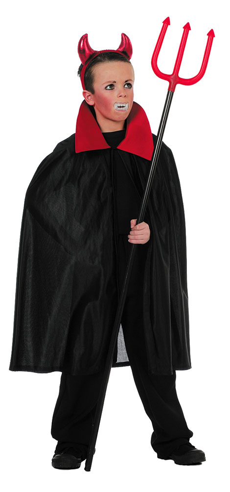 ROTER KINDER VAMPIRUMHANG Umhang Vampir Halloween Cape