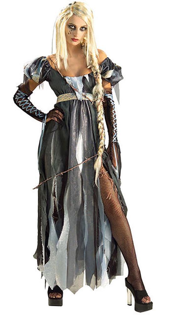 Zombie Damen Kostum Zombie Braut Geisterbraut R I P Unzel Kostum Kk