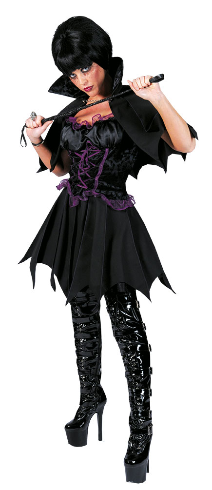 Vampir Kostum Damen Vampir Kleid Mit Umhang Und Stehkragen Kostume