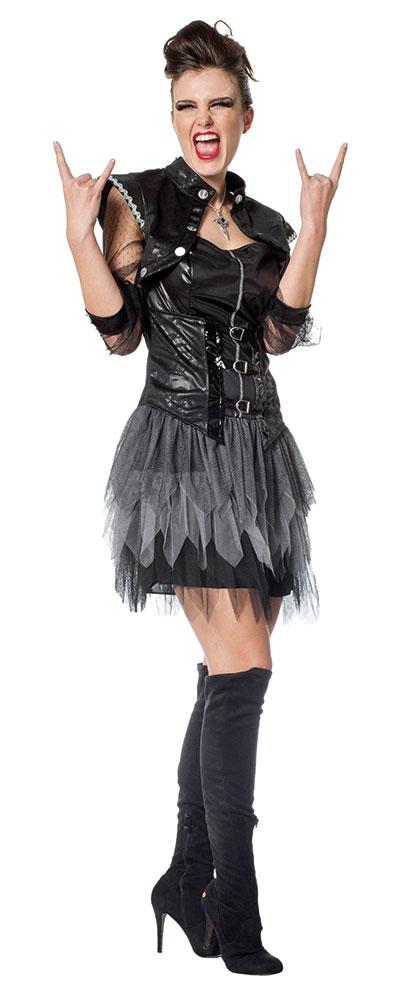 PUNKER PERÜCKE Karneval Fasching Punkerin Rocker Punk Irokese Kostüm Party 02105
