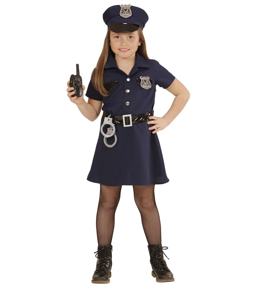 Kostum Polizistin Sonja Madchen Karneval Polizei Madchenkostum Kostume