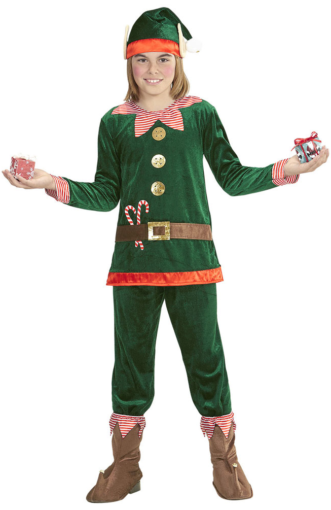 heißer verkauf billig bester Ort für 2019 Ausverkauf Weihnachtself Weihnachtswichtel Weihnachtshelfer Kostüm Kinder Jungen