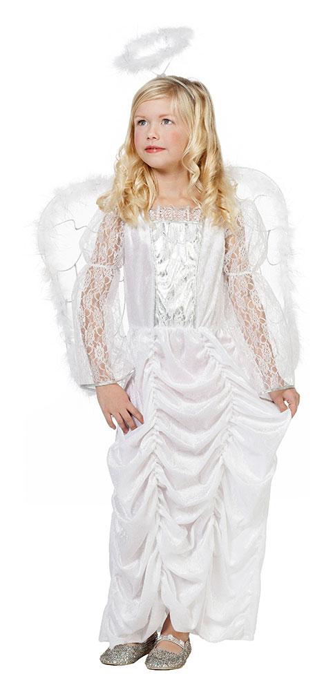Engel Kostum Kinder Engelskleid Lang Weihnachten Madchen Kosum