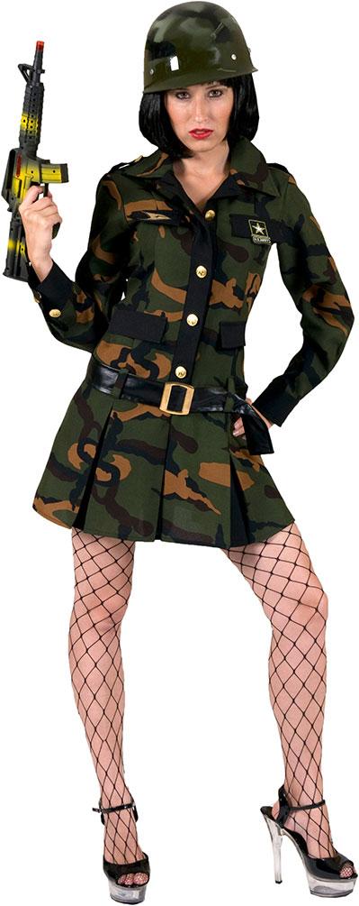 armee damen kostüm