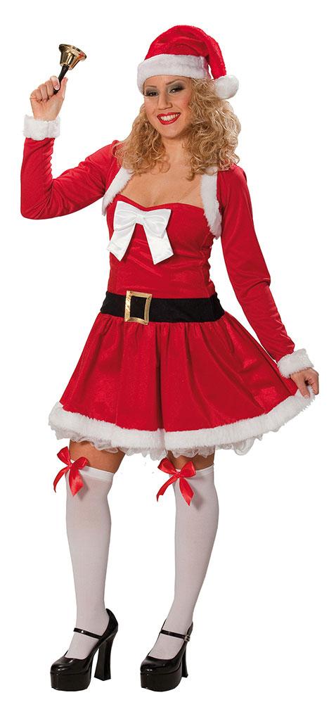 factory price b503b 758ff Weihnachtsfrau Kostüm sexy Nikolaus-Kostüm Damen rot Weihnachtskleid