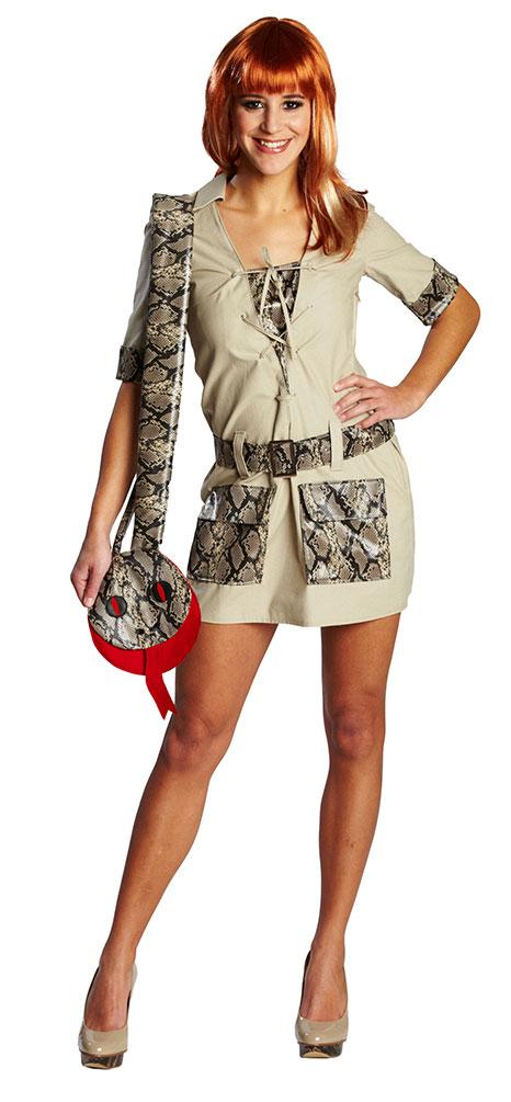 Safari Kostum Damen Sexy Dschungel Damenkostum Kleid Kostume
