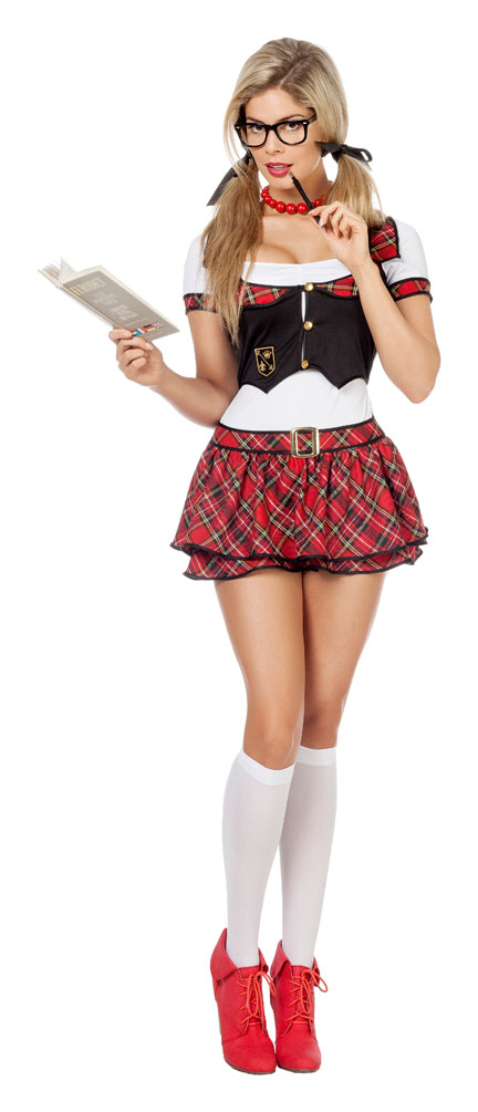 Schulmädchen Outfit