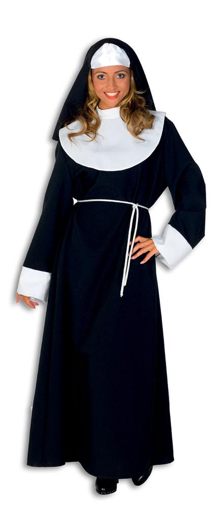 Nonne Kostum Damen Mit Nonne Kopfbedeckung Nonnenkostum Damen Kostum