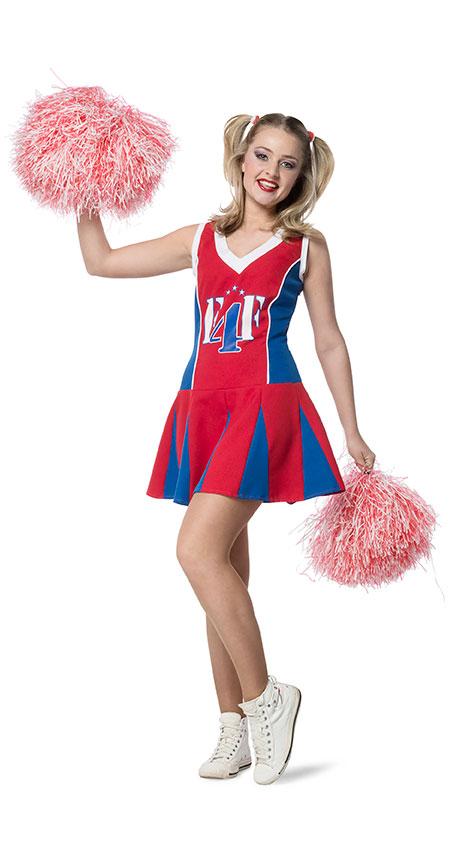 Cheerleader Kostum Damen Cheerleader Kleid Damen Kostum Kostume