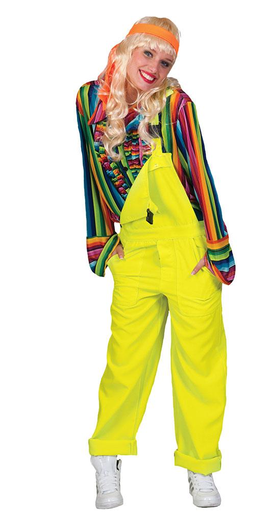 Kostum Hippie Hosen Trager Peace Erwachsene Party Accessoire