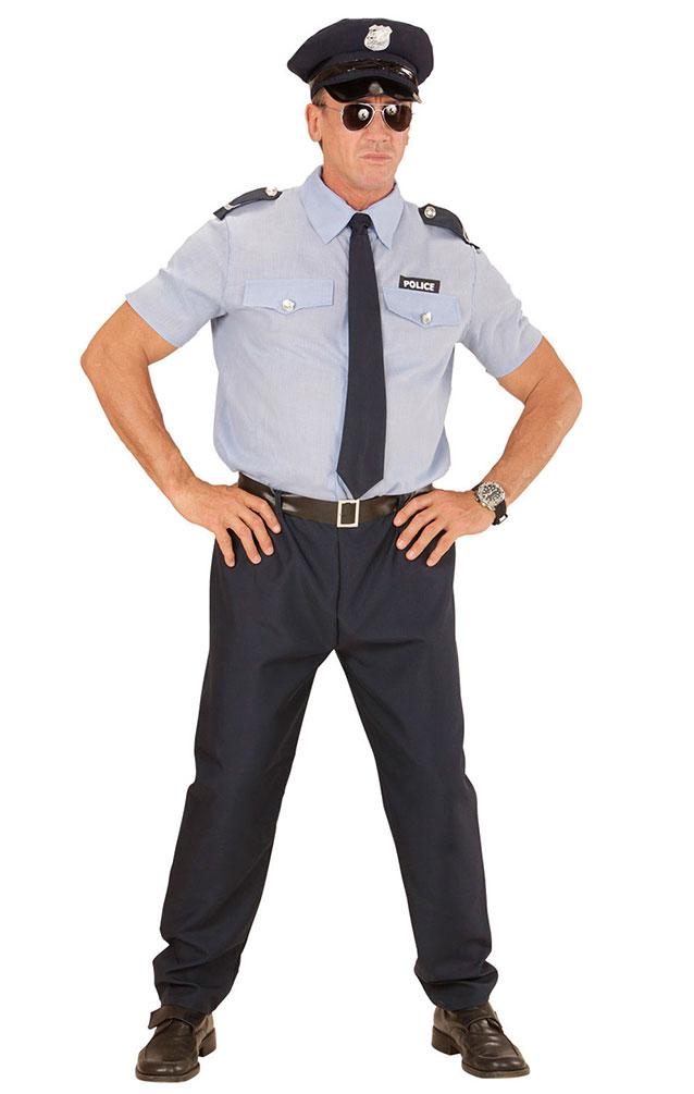 Kostum Polizist Sander Herr Karneval Polizei Herrenkostum Kostume