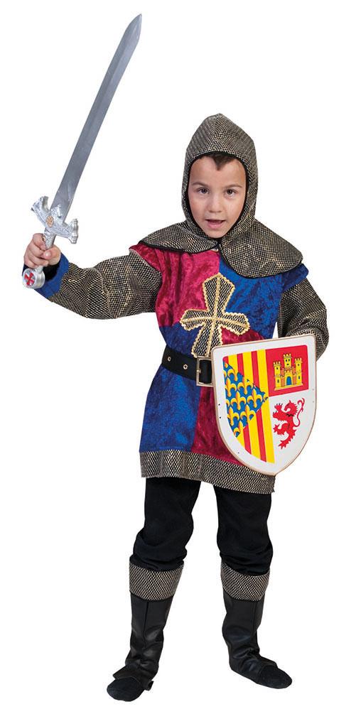 Ritter Kostum Kinder Jungen Kinderkostum Kreuzritter
