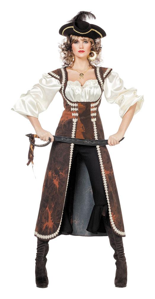 piratenkost m damen kost m piratin piraten damen mantel. Black Bedroom Furniture Sets. Home Design Ideas
