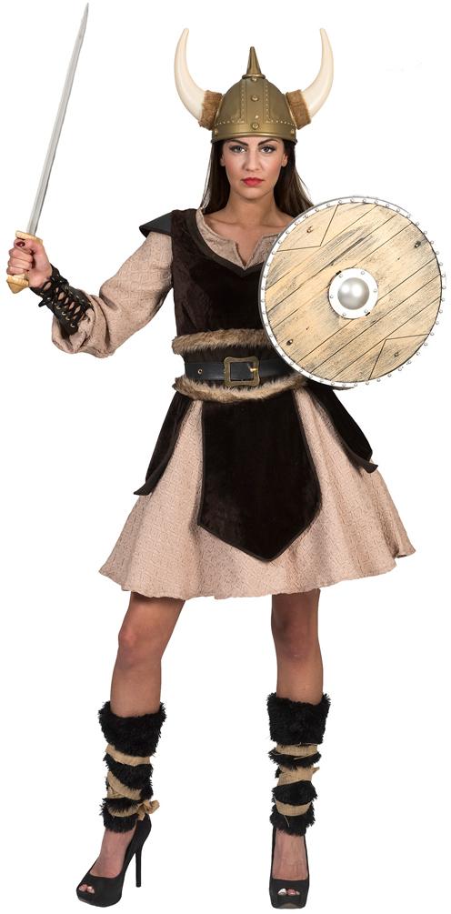 Wikinger Kostum Damen Vikings Nordmann Kostum Viking Karneval Damen