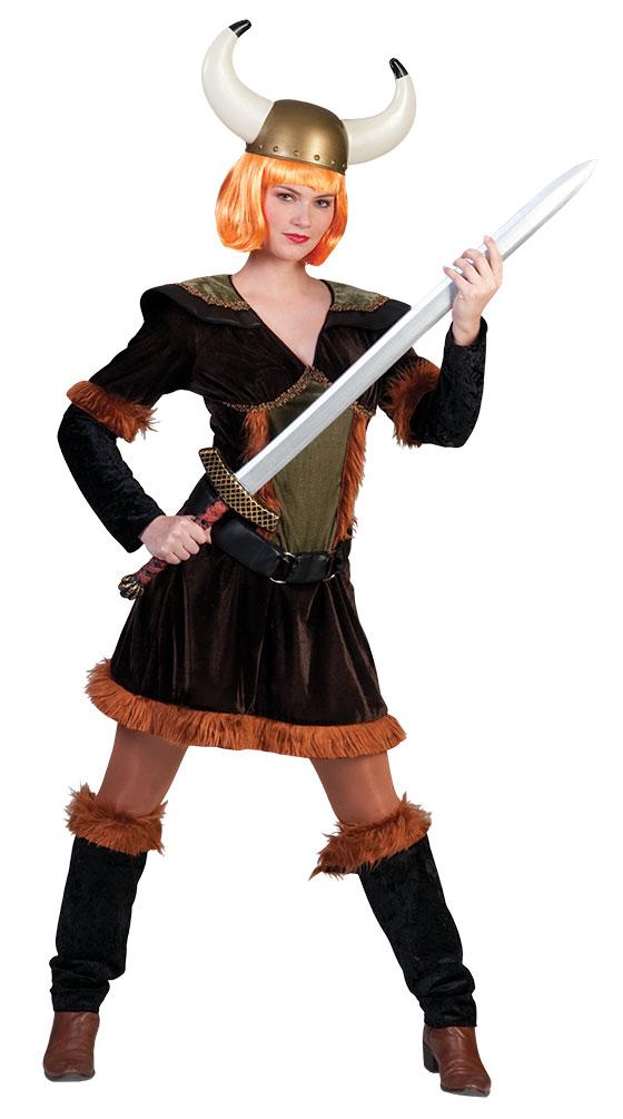 Wikinger Damen Wikinger Kostum Barbarin Damen Kostum Kostume