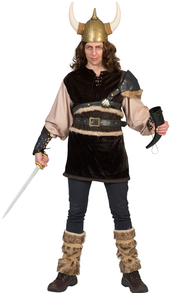 wikinger kost m herren nordmann kost m viking vikings mit stulpen herren kost m ebay. Black Bedroom Furniture Sets. Home Design Ideas
