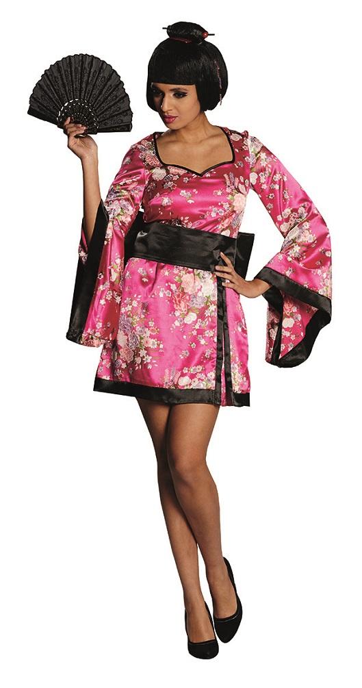 kost m geisha kimono japan kost me. Black Bedroom Furniture Sets. Home Design Ideas