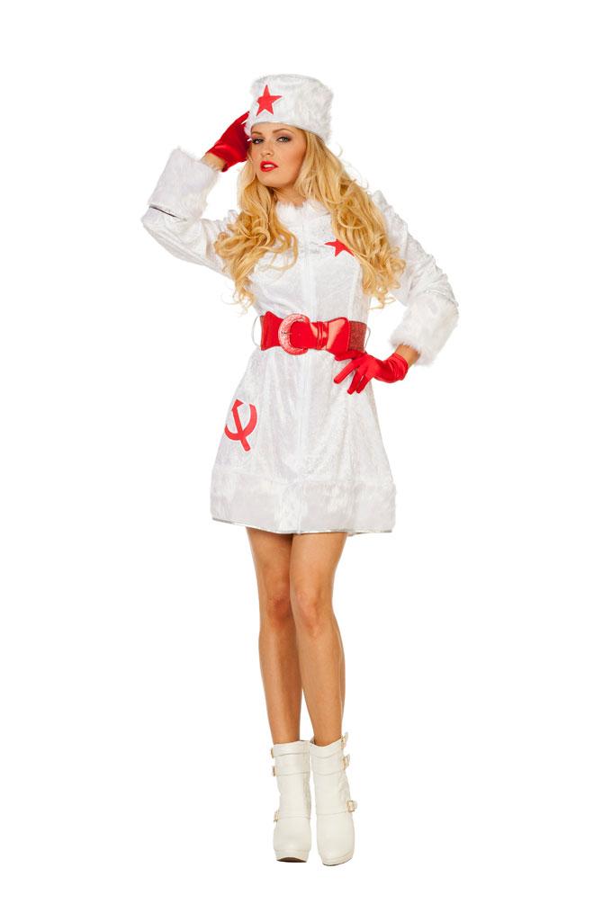 Kosaken Kosakin Kostum Damen Sexy Russin Russen Karneval Fasching Kk