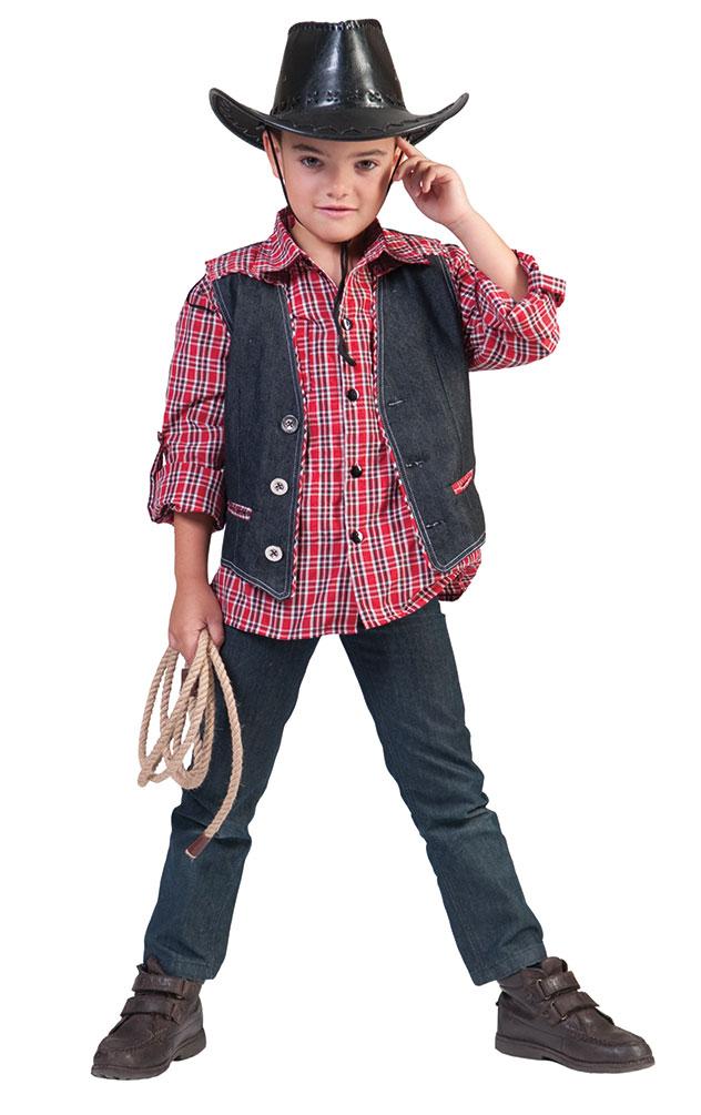 Cowboy Kostum Kinder Jungen Cowboy Hemd Western Kostum Rot Kariert