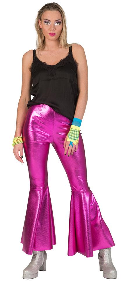 Kostüm Hose Damen Damen Hose Disco Hose Kostüm Disco Pink Kostüm Disco Pink WQCxrdeBo