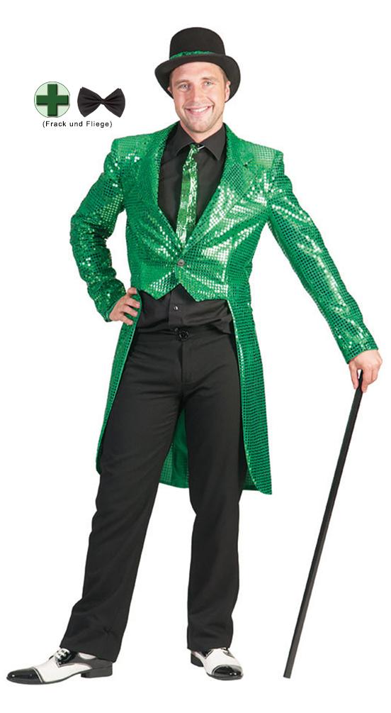 Frack Herren rot Herrenfrack Silvester Karneval Fasching Kostüm KK
