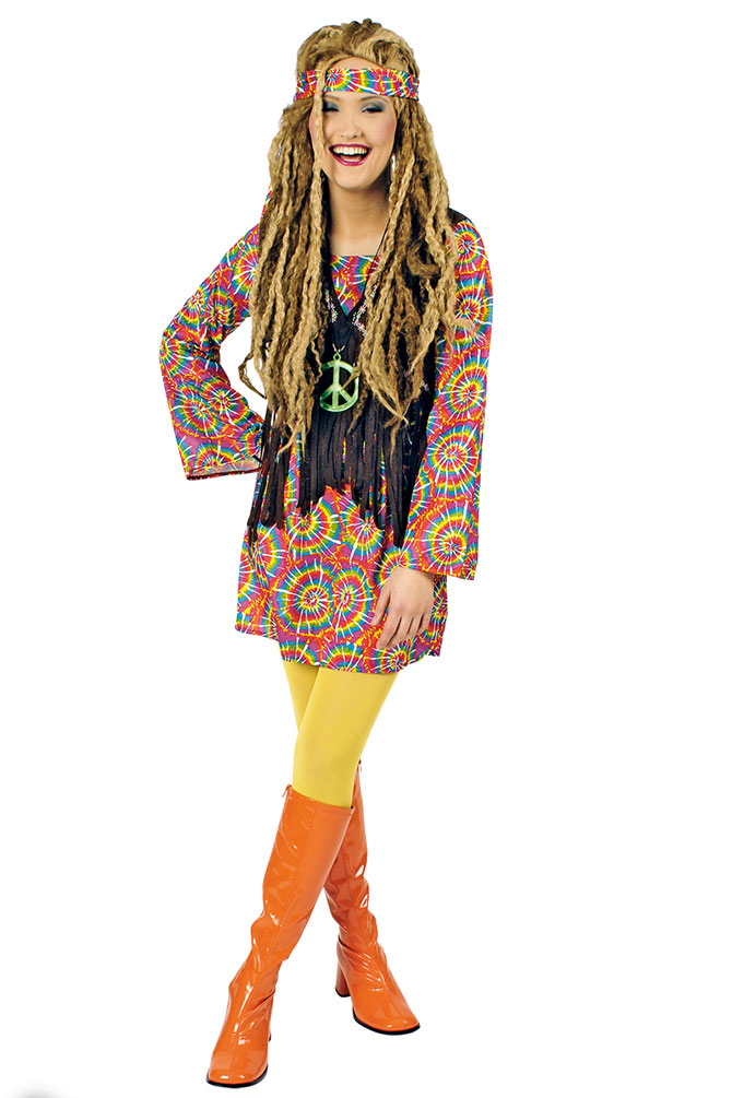 Fasching kostume damen flower power