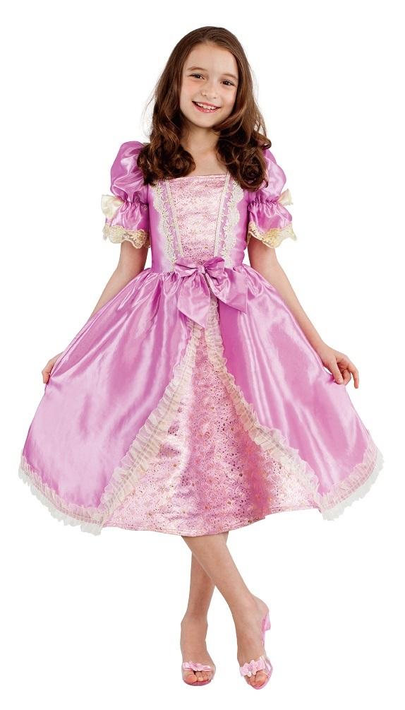 rosa prinzessinen kleid