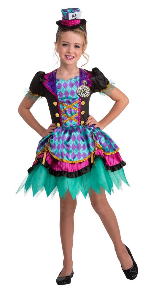 Hutmacher Kostüm Kinder Haarreif Mit Hut Alice Im Wunderland Mädchen